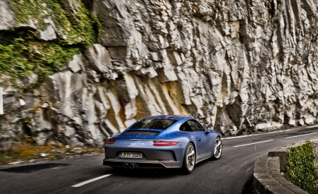 2018 Porsche 911 GT3 with Touring Package Rear Wallpaper 450x275 (70)