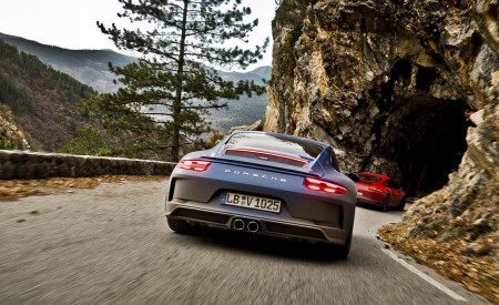 2018 Porsche 911 GT3 with Touring Package Rear Wallpaper 450x275 (32)