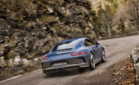 2018 Porsche 911 GT3 with Touring Package Rear Wallpaper 450x275 (71)