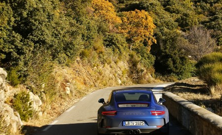 2018 Porsche 911 GT3 with Touring Package Rear Wallpaper 450x275 (34)