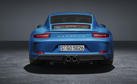 2018 Porsche 911 GT3 with Touring Package Rear Wallpaper 450x275 (82)
