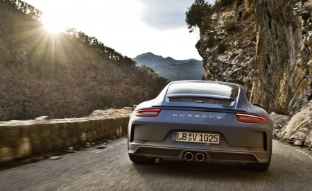 2018 Porsche 911 GT3 with Touring Package Rear Wallpaper 450x275 (72)