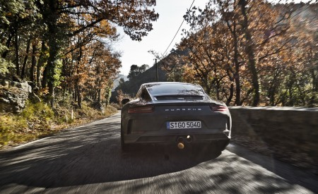 2018 Porsche 911 GT3 with Touring Package Rear Wallpaper 450x275 (54)