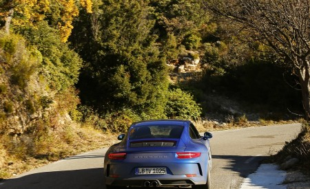 2018 Porsche 911 GT3 with Touring Package Rear Wallpaper 450x275 (47)