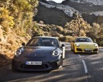 2018 Porsche 911 GT3 with Touring Package and 911 Carrera T Front Wallpapers 150x120 (2)