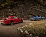 2018 Porsche 911 GT3 with Touring Package and 911 Carrera T Rear Three-Quarter Wallpapers 150x120 (26)