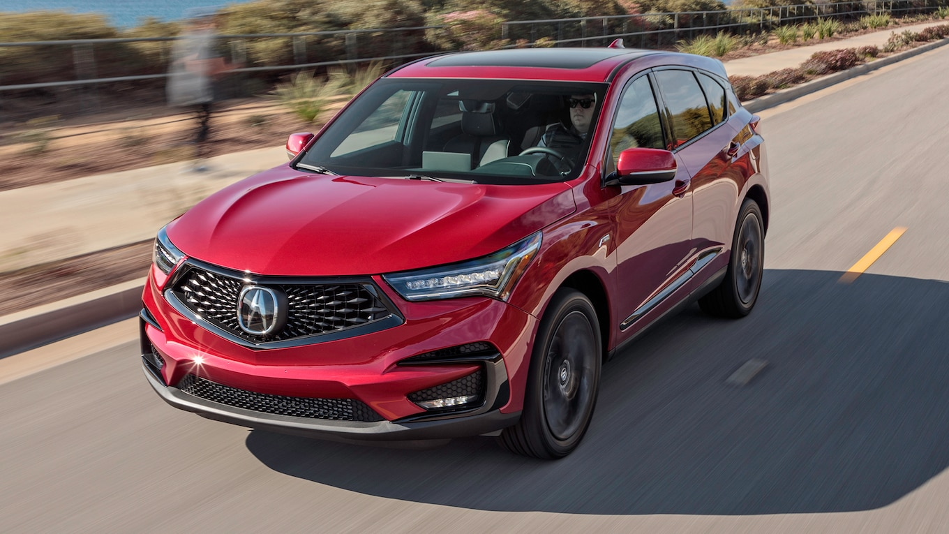 2019 Acura RDX A-Spec Front Three-Quarter Wallpaper (10)