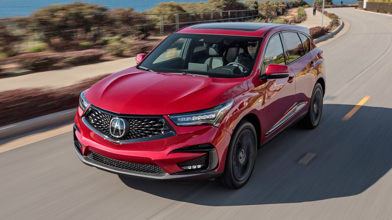 2019 Acura RDX A-Spec Front Three-Quarter Wallpaper (1)