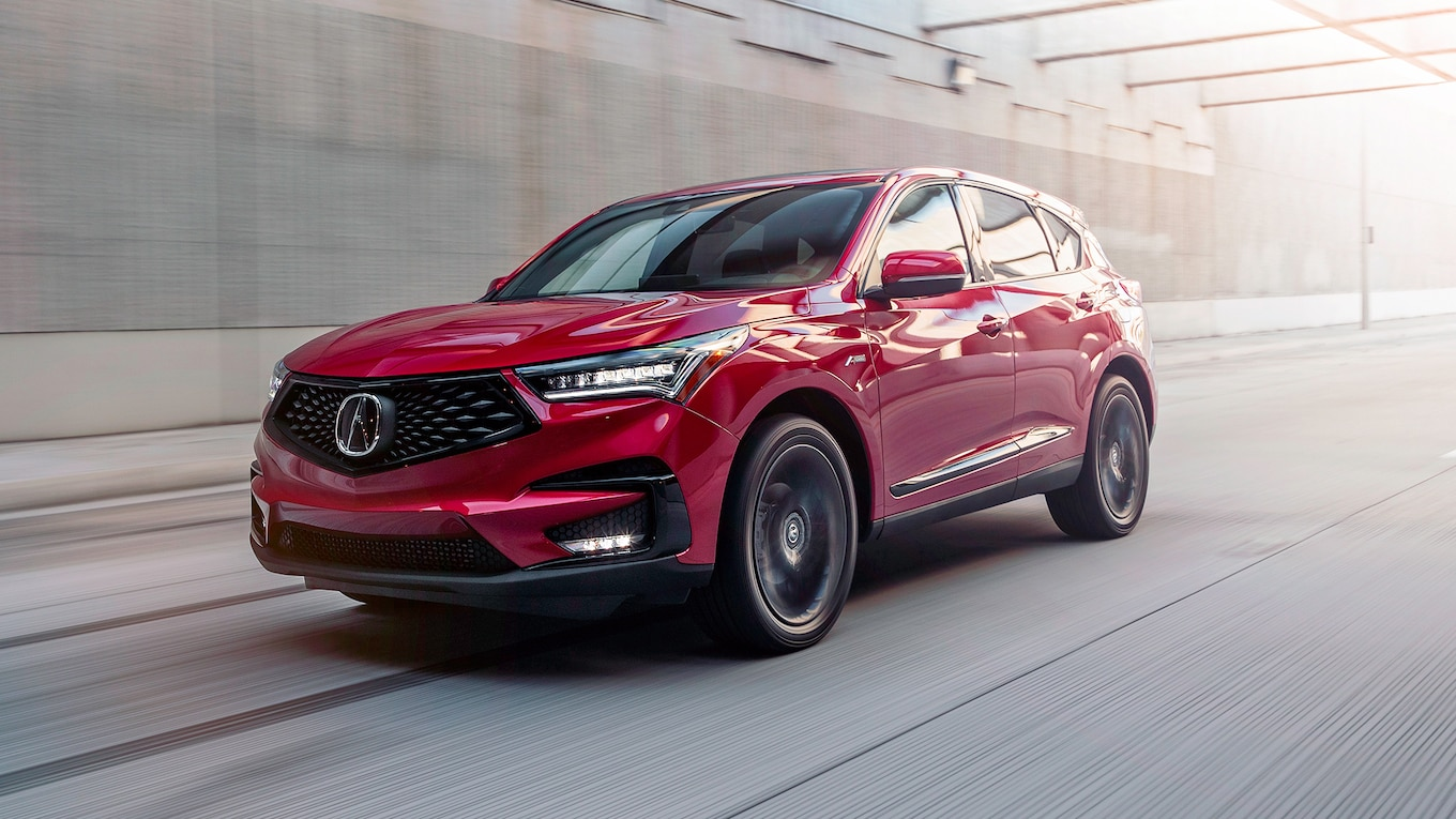 2019 Acura RDX A-Spec Front Three-Quarter Wallpaper (2)