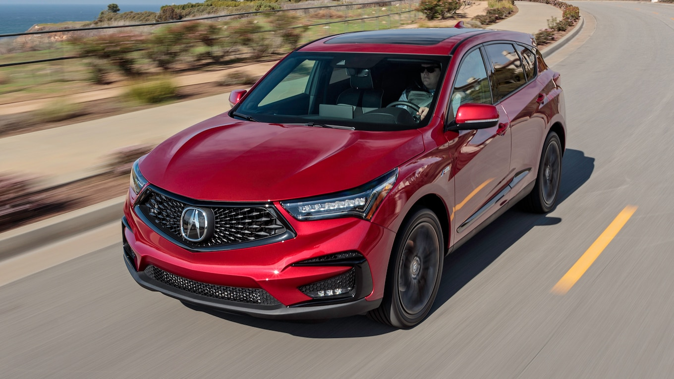 2019 Acura RDX A-Spec Front Three-Quarter Wallpaper (11)