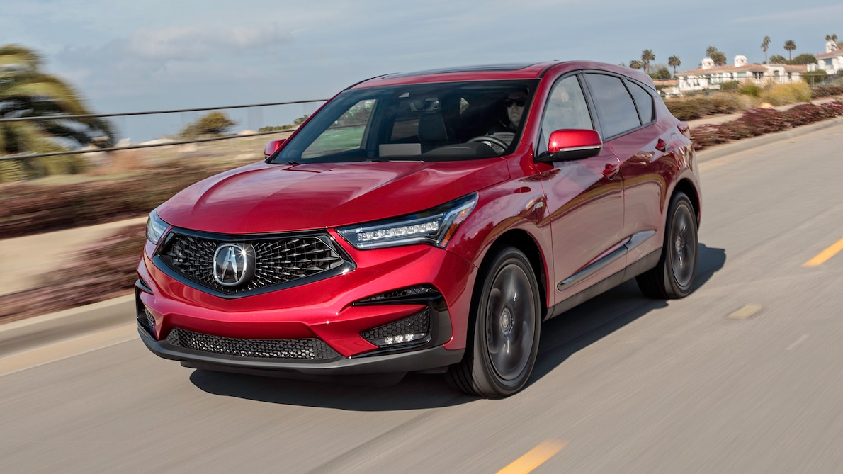 2019 Acura RDX A-Spec Front Three-Quarter Wallpaper (3)