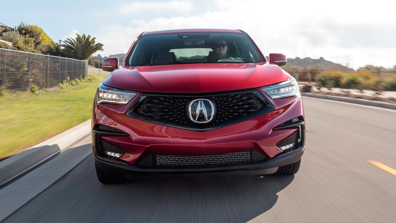 2019 Acura RDX A-Spec Front Wallpaper (4)