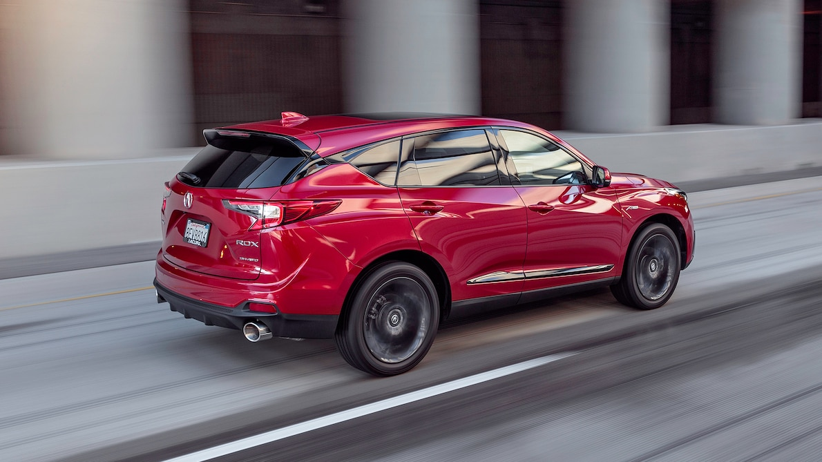 2019 Acura RDX A-Spec Rear Three-Quarter Wallpaper (6)