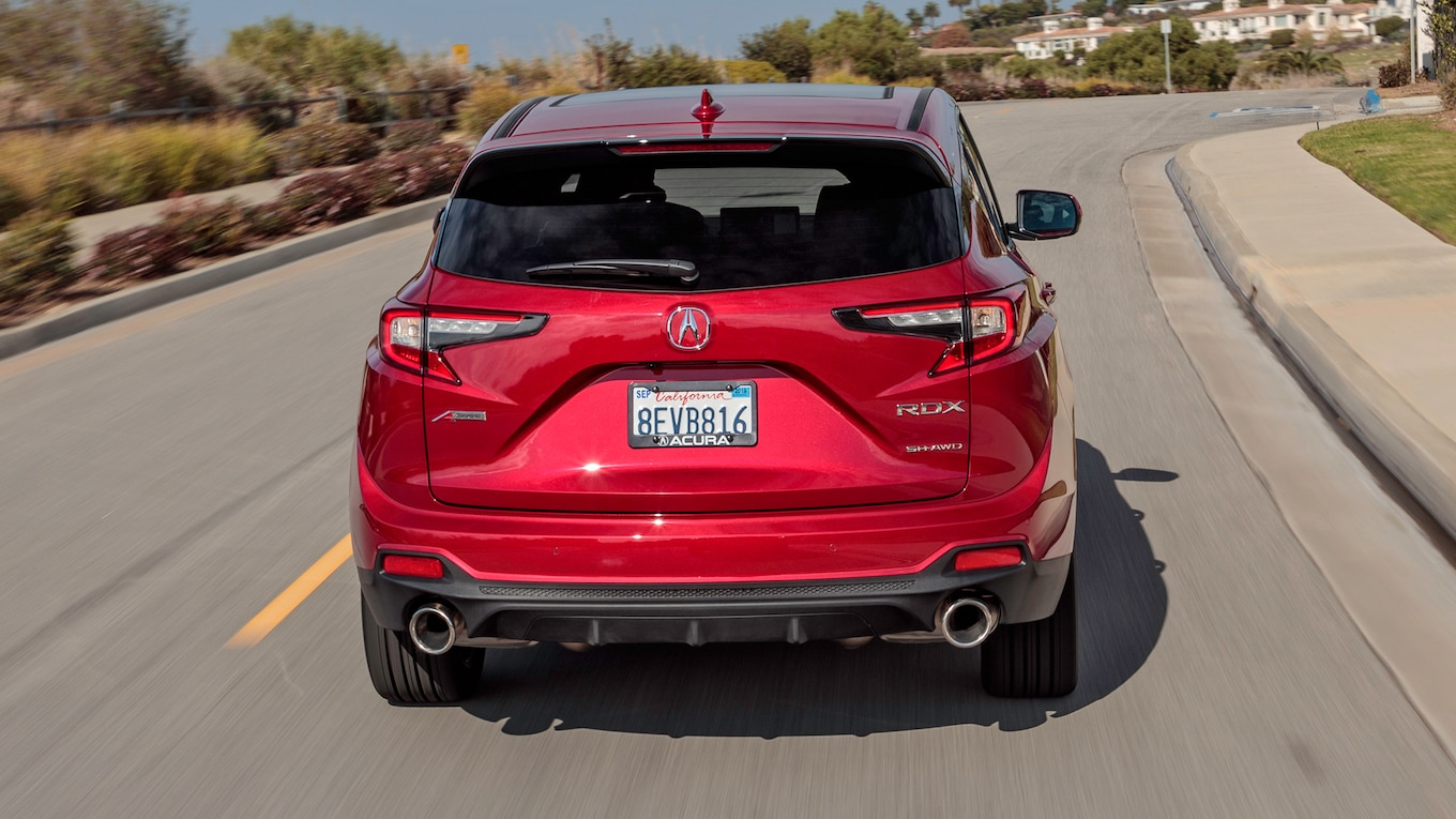 2019 Acura RDX A-Spec Rear Wallpaper (13)