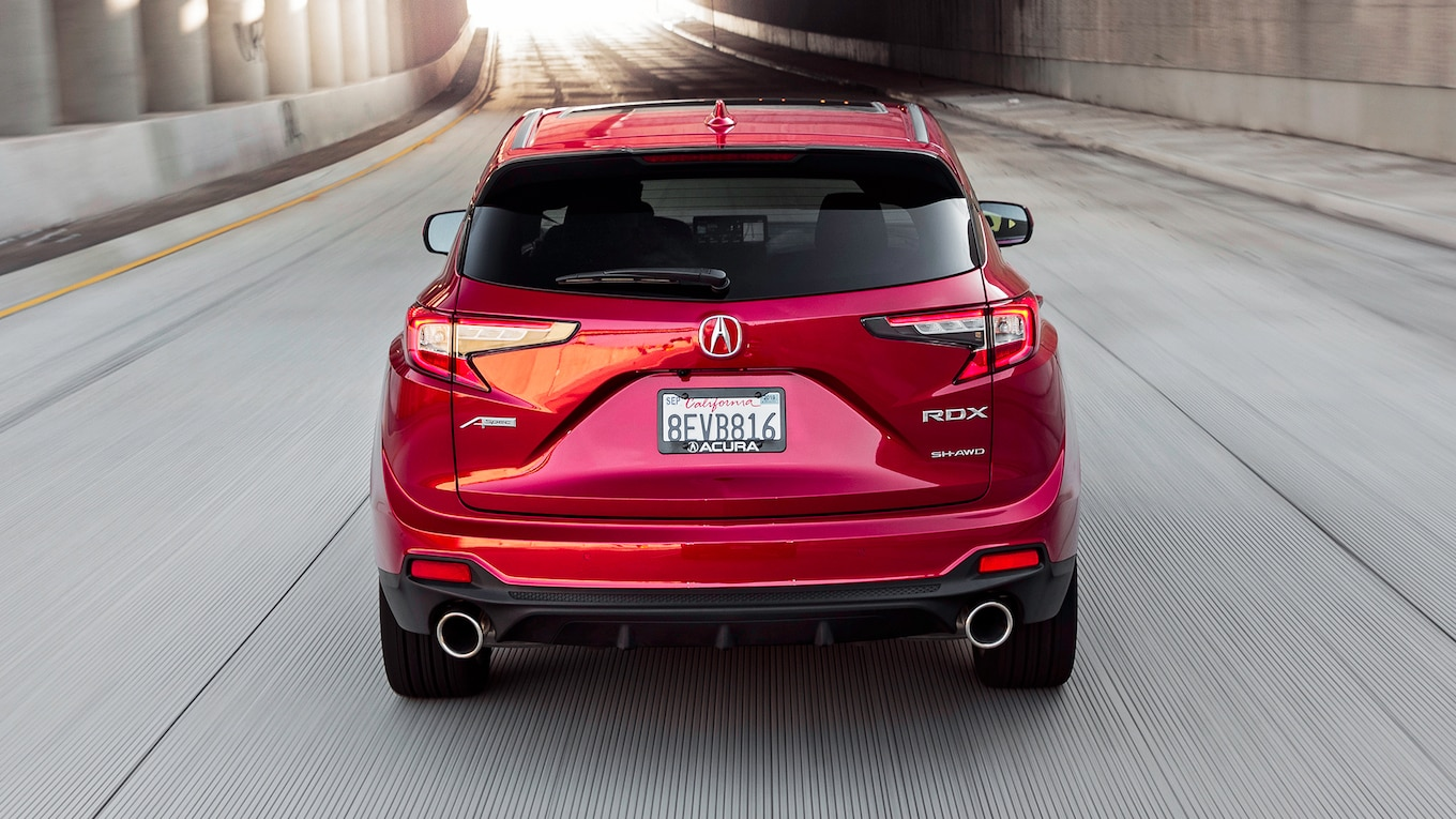 2019 Acura RDX A-Spec Rear Wallpaper (8)