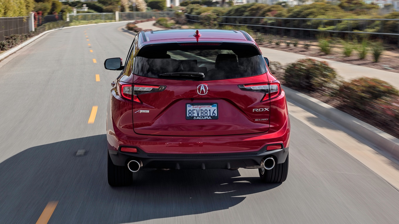 2019 Acura RDX A-Spec Rear Wallpaper (14)
