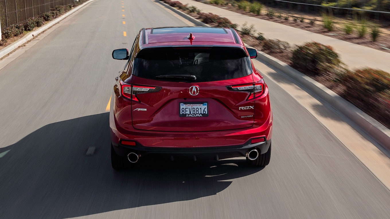 2019 Acura RDX A-Spec Rear Wallpaper (9)