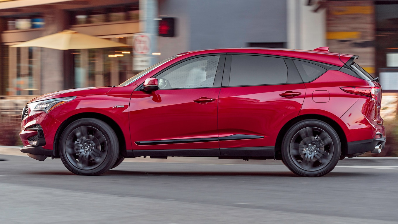 2019 Acura RDX A-Spec Side Wallpaper (15)