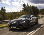 2019 Aston Martin Vantage (Onyx Black) Front Three-Quarter Wallpaper 150x120 (3)