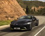 2019 Aston Martin Vantage (Onyx Black) Front Three-Quarter Wallpaper 150x120 (5)