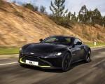 2019 Aston Martin Vantage (Onyx Black) Front Three-Quarter Wallpapers 150x120 (7)