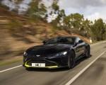 2019 Aston Martin Vantage (Onyx Black) Front Three-Quarter Wallpapers 150x120 (9)