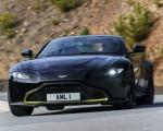 2019 Aston Martin Vantage (Onyx Black) Front Wallpapers 150x120 (36)