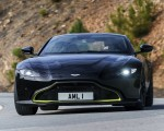 2019 Aston Martin Vantage (Onyx Black) Front Wallpapers 150x120 (37)