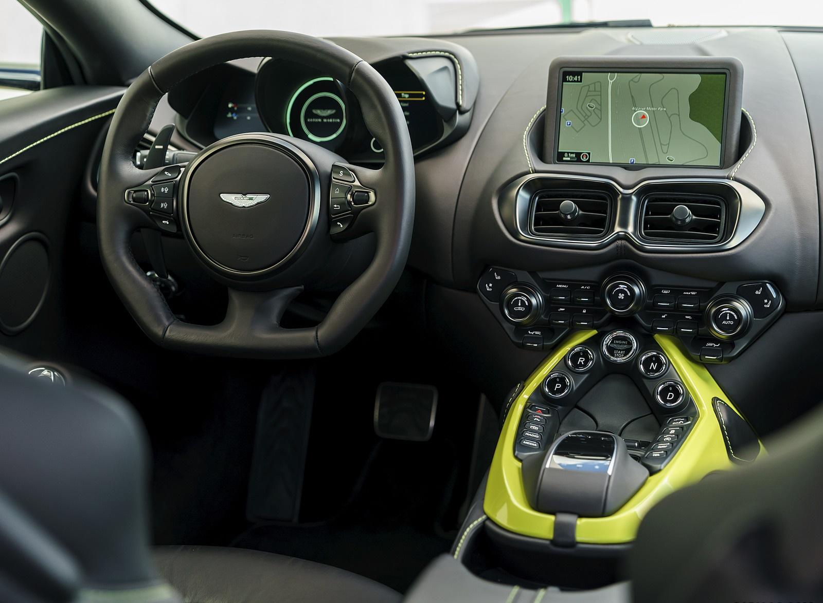 2019 Aston Martin Vantage Onyx Black Interior Wallpapers 111 Newcarcars
