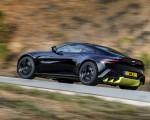 2019 Aston Martin Vantage (Onyx Black) Rear Three-Quarter Wallpapers 150x120 (38)