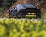 2019 Aston Martin Vantage (Onyx Black) Rear Three-Quarter Wallpapers 150x120 (19)