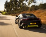 2019 Aston Martin Vantage (Onyx Black) Rear Wallpaper 150x120 (27)