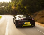 2019 Aston Martin Vantage (Onyx Black) Rear Wallpapers 150x120 (28)