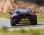 2019 Aston Martin Vantage (Onyx Black) Rear Wallpapers 150x120 (29)
