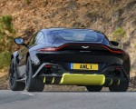 2019 Aston Martin Vantage (Onyx Black) Rear Wallpaper 150x120 (40)