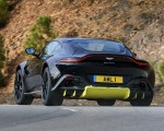 2019 Aston Martin Vantage (Onyx Black) Rear Wallpaper 150x120 (21)
