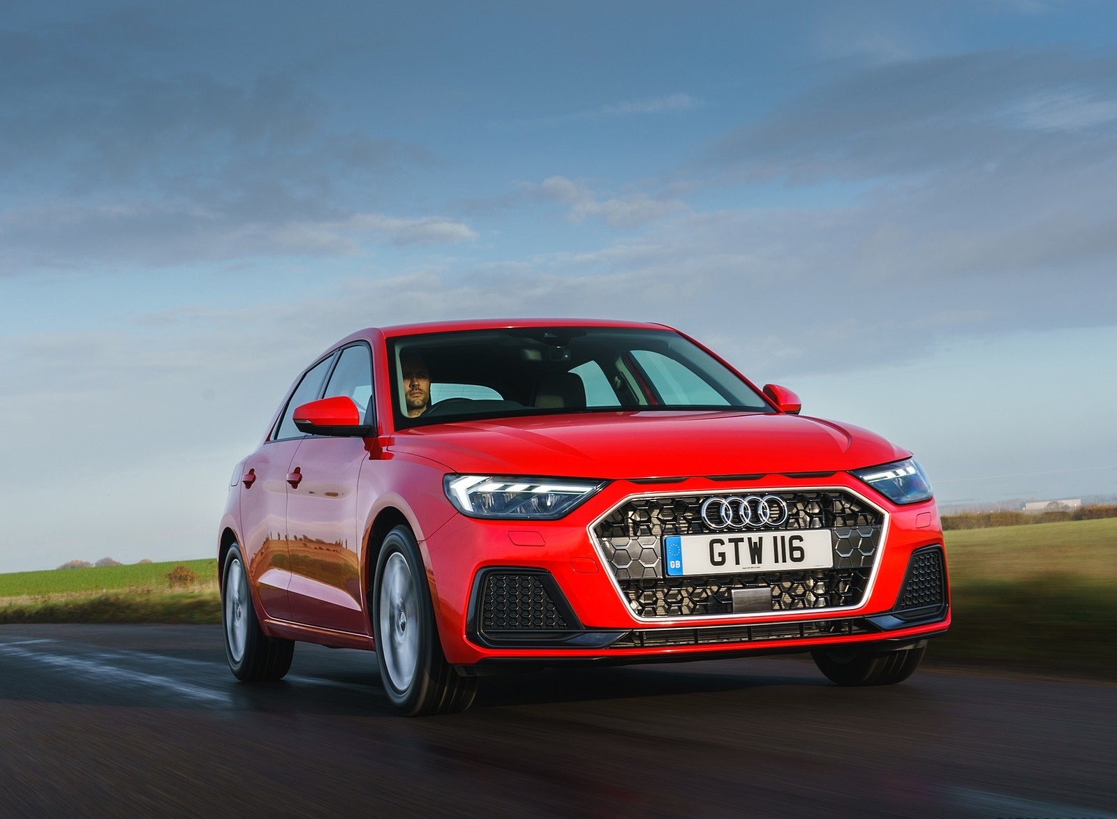 2019 Audi A1 Sportback 30 TFSI (UK-Spec) Front Three-Quarter Wallpapers (1)