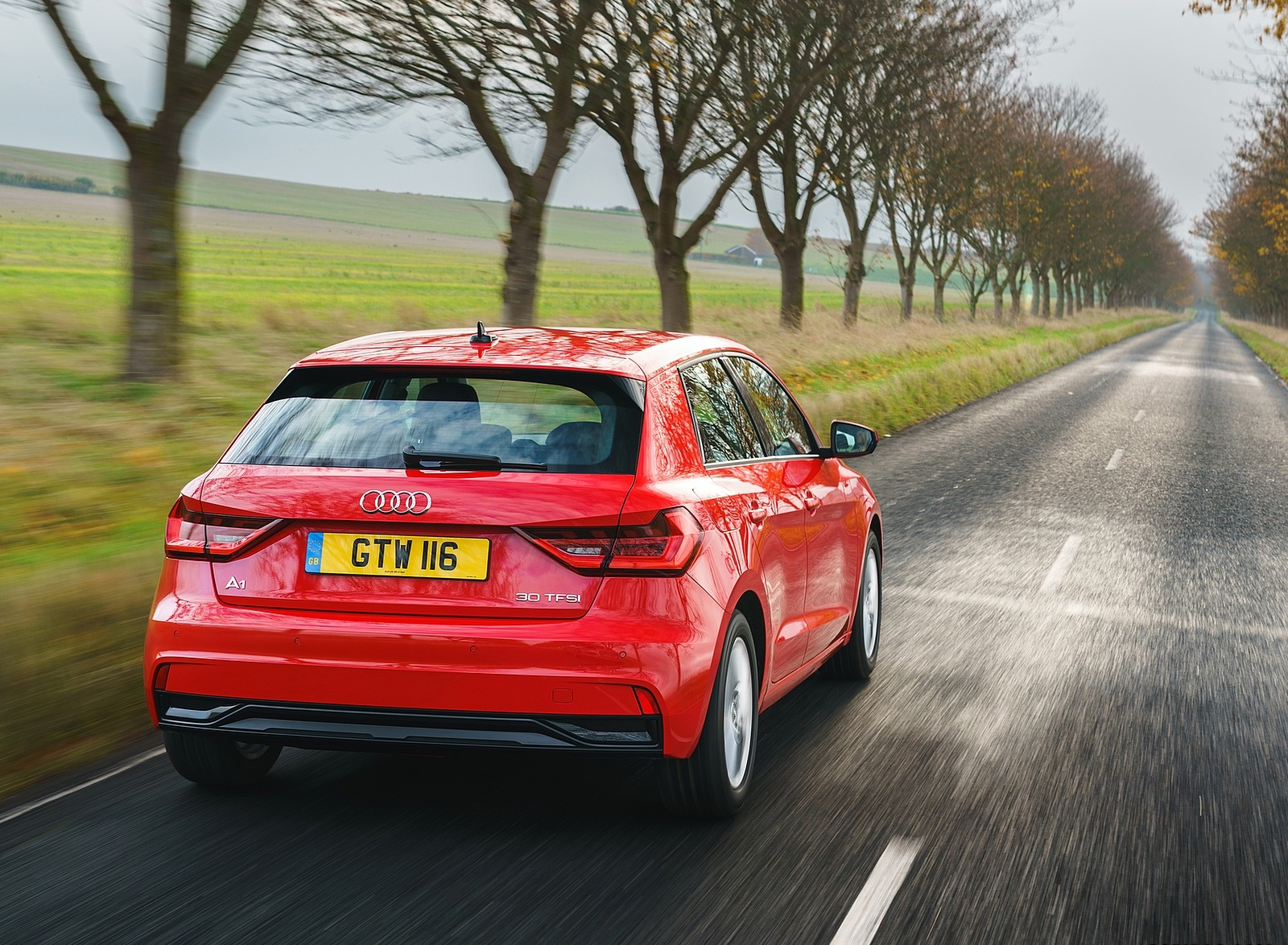 2019 Audi A1 Sportback 30 TFSI (UK-Spec) Rear Wallpapers (3)
