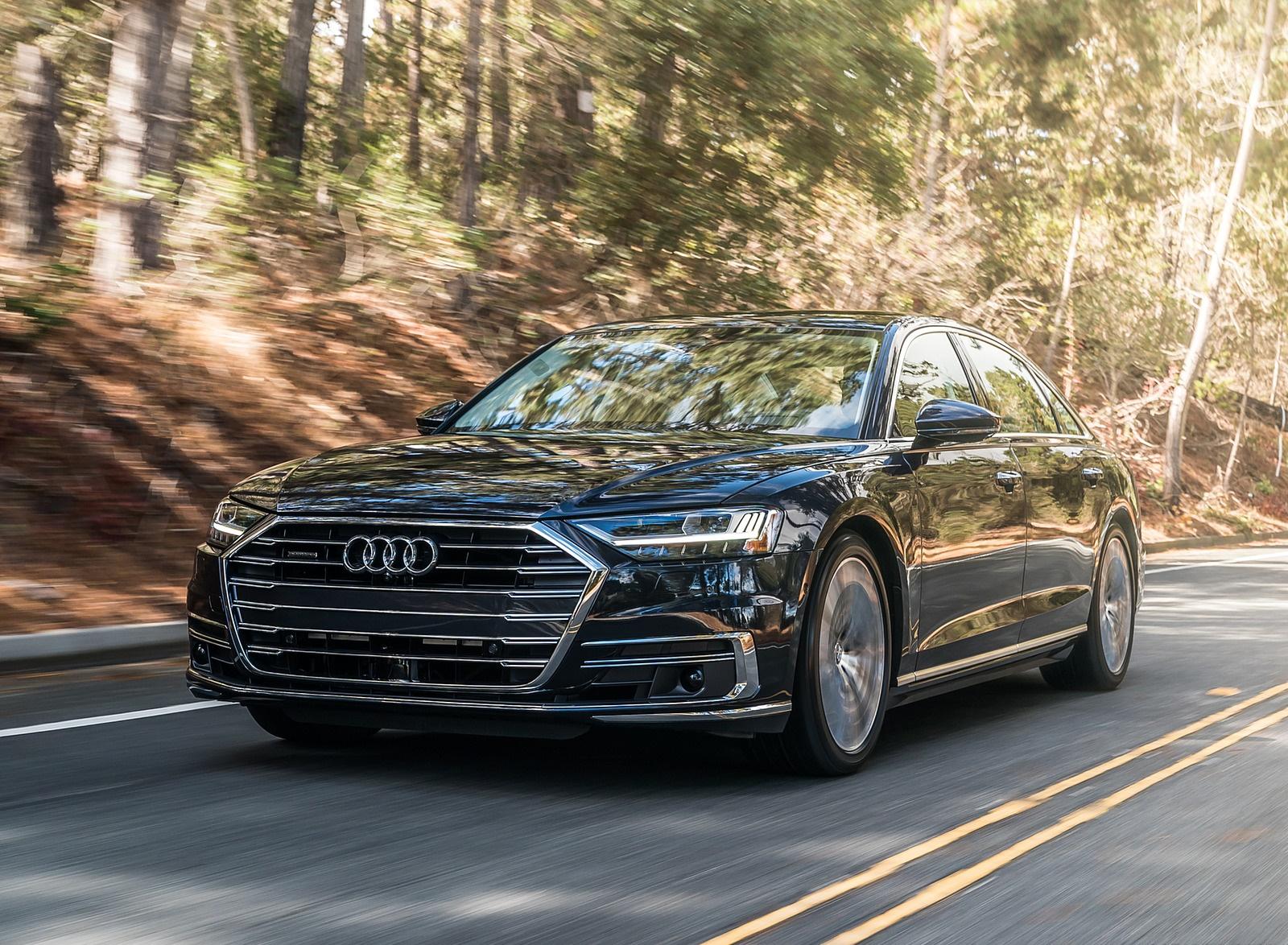 2019 Audi A8 (US-Spec) Front Three-Quarter Wallpapers (2)