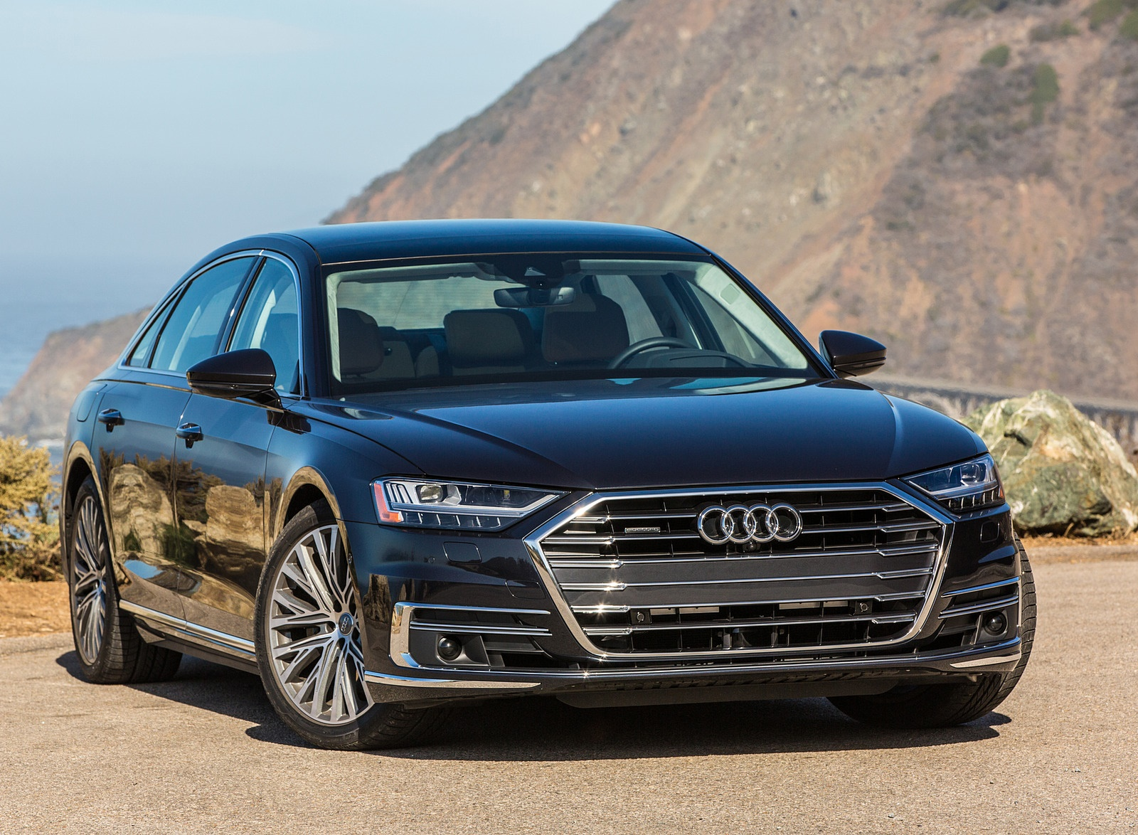 2019 Audi A8 (US-Spec) Front Three-Quarter Wallpapers (13)