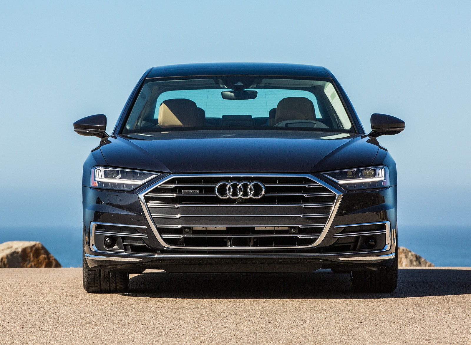 2019 Audi A8 (US-Spec) Front Wallpapers (14)
