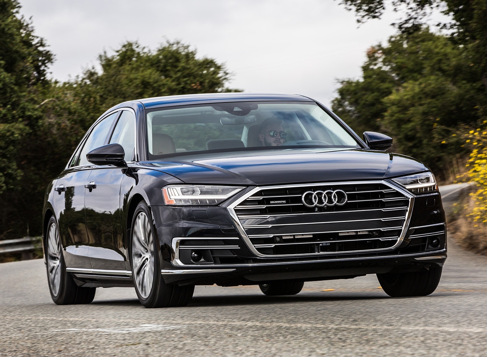 2019 Audi A8 (US-Spec) Front Wallpapers (9)