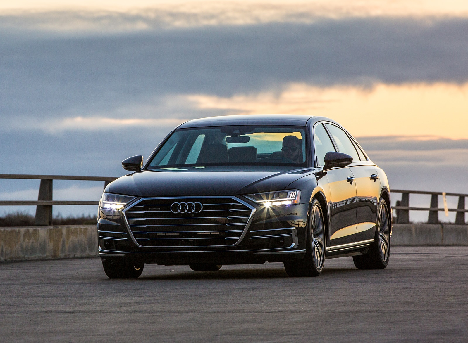 2019 Audi A8 (US-Spec) Front Wallpapers (6)