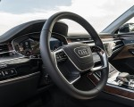 2019 Audi A8 (US-Spec) Interior Steering Wheel Wallpapers 150x120 (21)