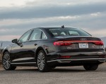 2019 Audi A8 (US-Spec) Rear Three-Quarter Wallpapers 150x120 (11)