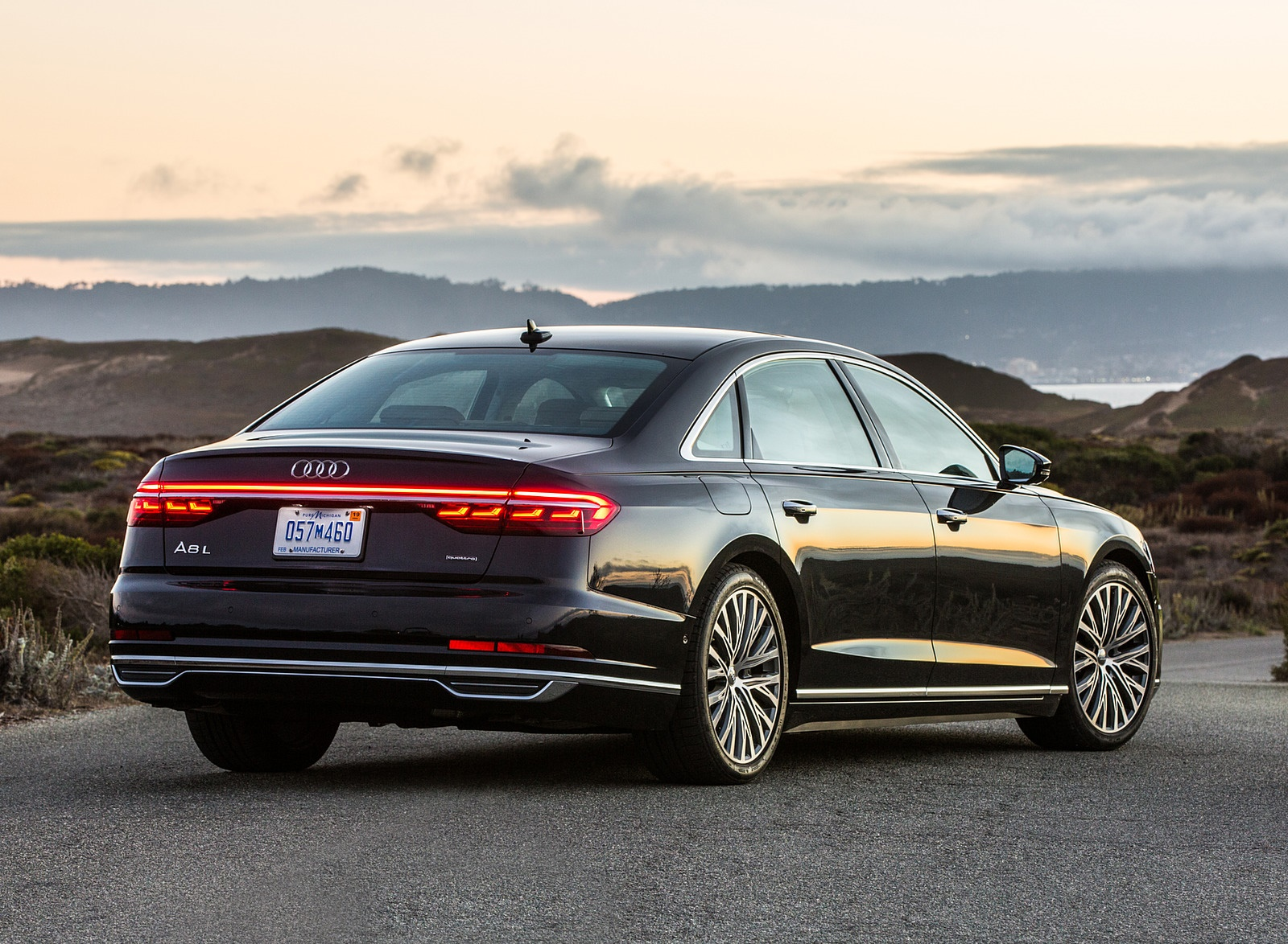 2019 Audi A8 (US-Spec) Rear Three-Quarter Wallpapers (10)