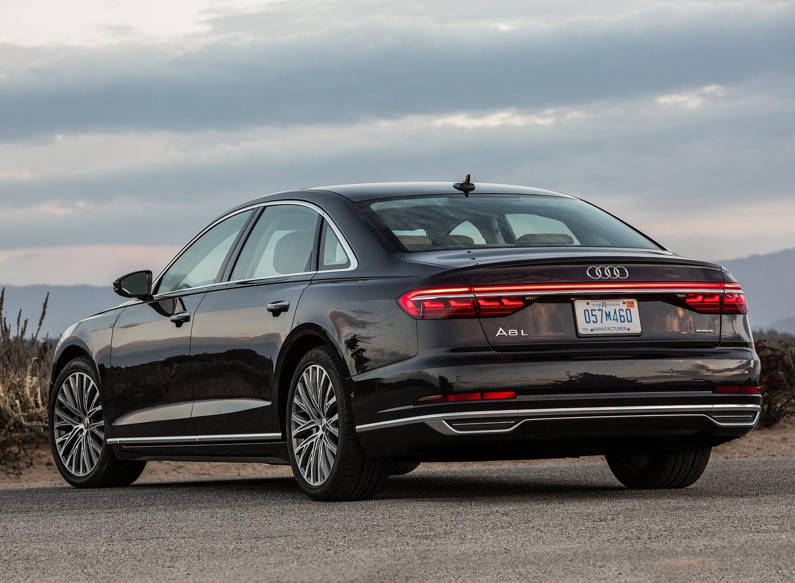 2019 Audi A8 (US-Spec) Rear Three-Quarter Wallpapers (11)