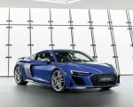 2019 Audi R8 (Color: Ascari Blue Metallic) Front Three-Quarter Wallpaper 150x120 (37)