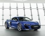 2019 Audi R8 (Color: Ascari Blue Metallic) Front Three-Quarter Wallpapers 150x120 (37)