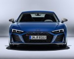 2019 Audi R8 (Color: Ascari Blue Metallic) Front Wallpaper 150x120 (38)